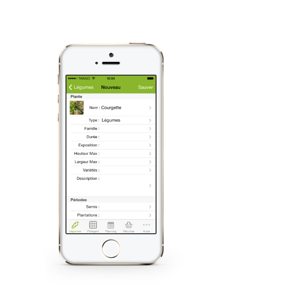 Application iphone ipad et android pour votre jardin potager for Application plan jardin
